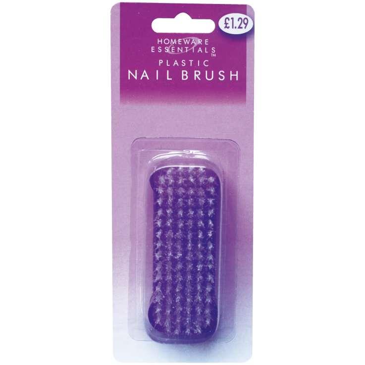 Homeware Essentials Plastic Nail Brush (HE20)