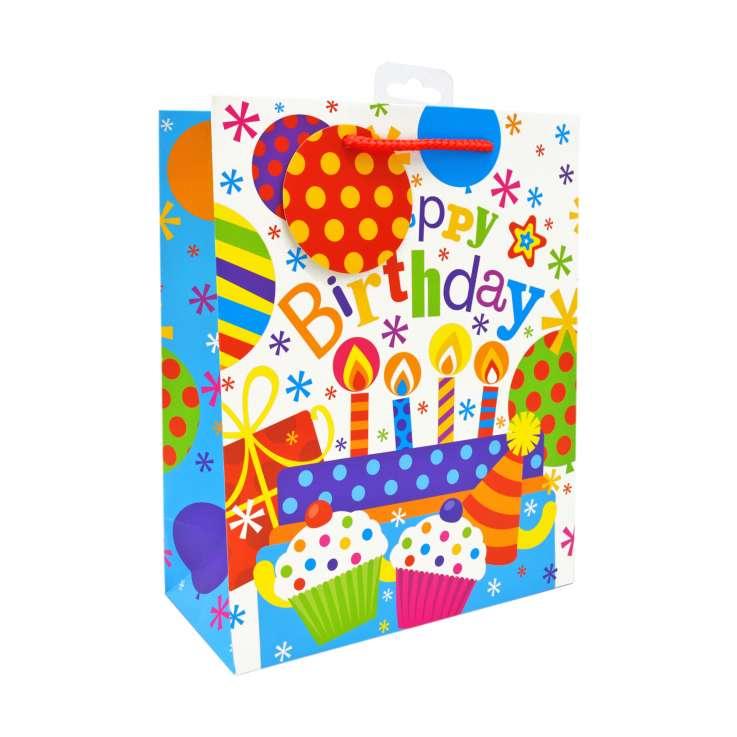 Medium Gift Bags - Happy Birthday (21cm x 26cm)