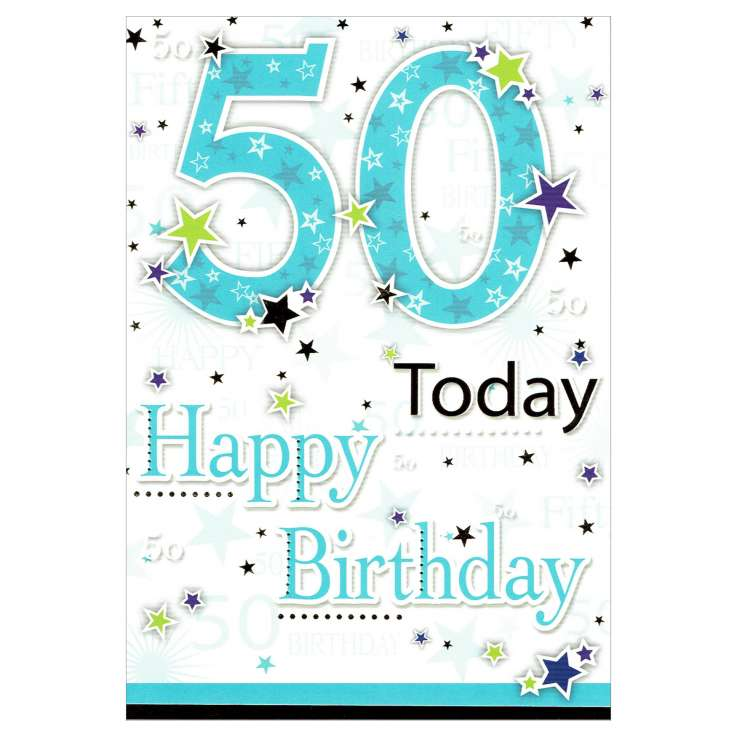 Everyday Greeting Cards Code 50 - 50 (M)