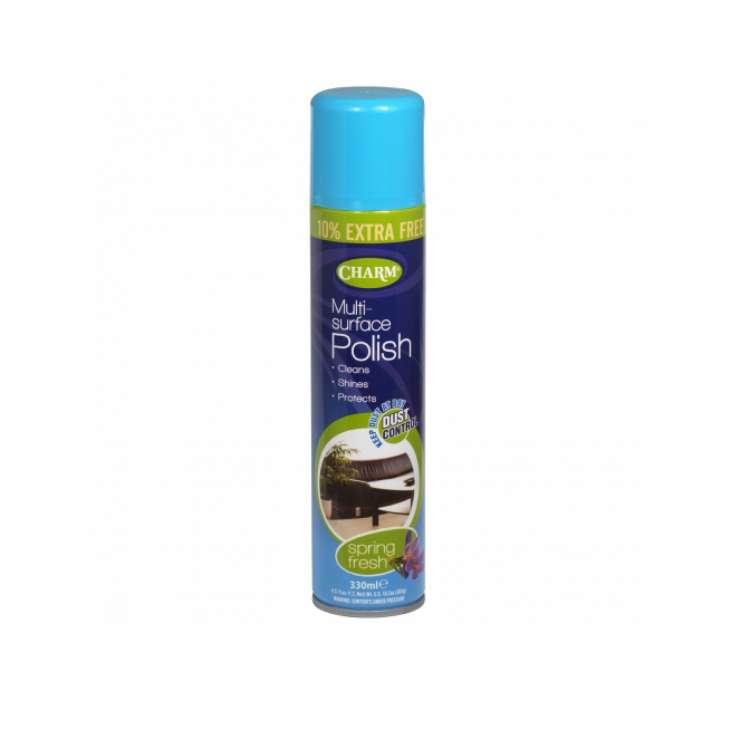 Charm multi surface polish 330ml - Spring Fresh