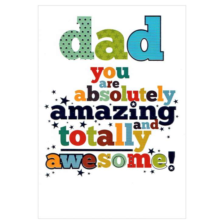 Everyday Greeting Cards Code 50 - Dad