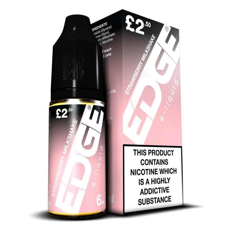 EDGE e-liquid - Strawberry Milkshake - 6mg