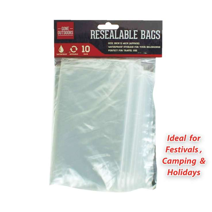Gone outdoors resealable travel bags