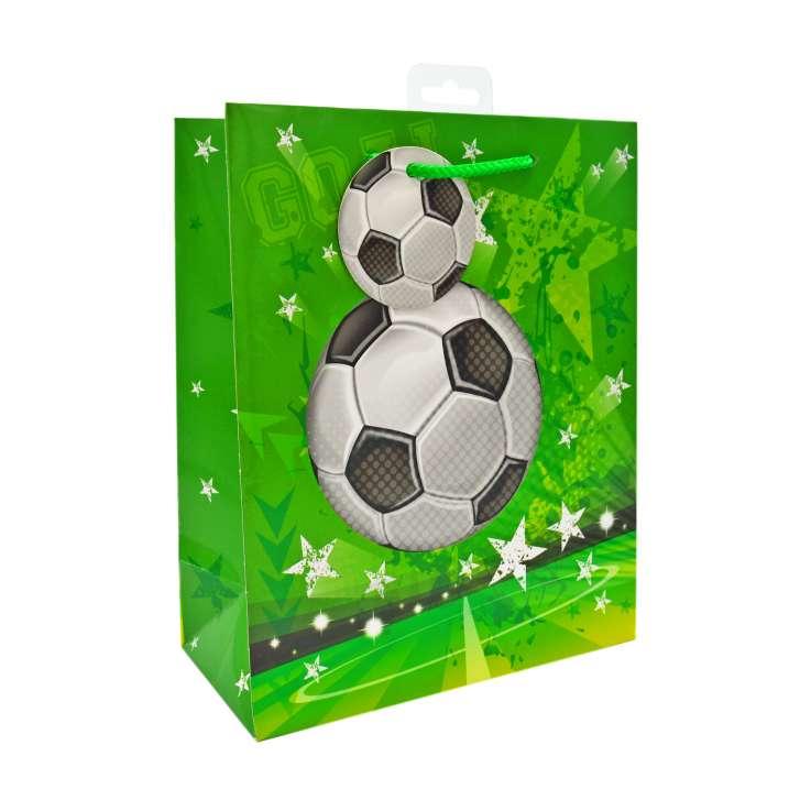 Medium Gift Bags - Football (21cm x 26cm)
