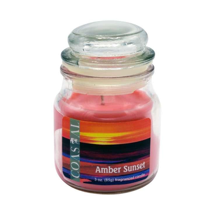 Amber sunset candle 3oz