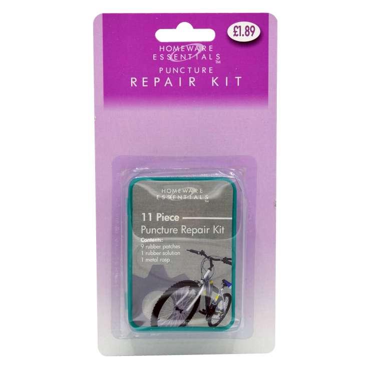 Puncture repair kit (half case)