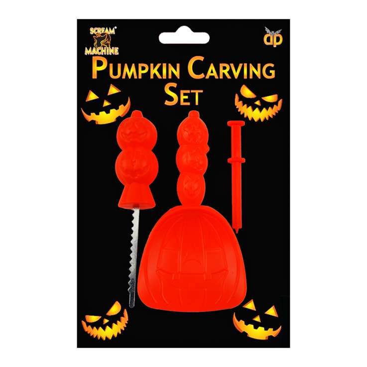 Scream Machine Pumpkin Carving Set