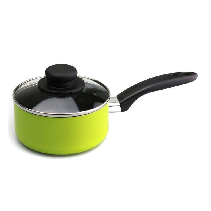 Saucepan & lid 15cm - lime green