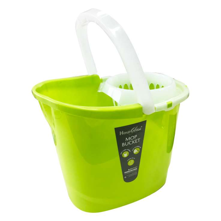 Mop bucket with lip & carry handle 13L
