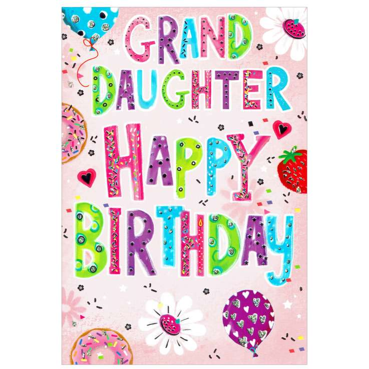 Everyday Greeting Cards Code 50 - Granddaughter