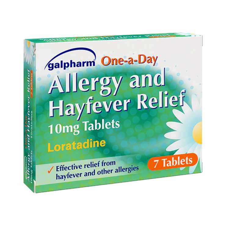 Galpharm Allergy & Hayfever Relief 10mg Tablets 7 Pack - Loratadine