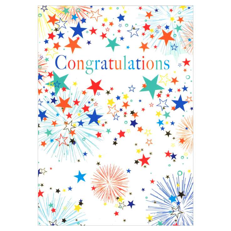 Everyday Greeting Cards Code 50 - Congratulations