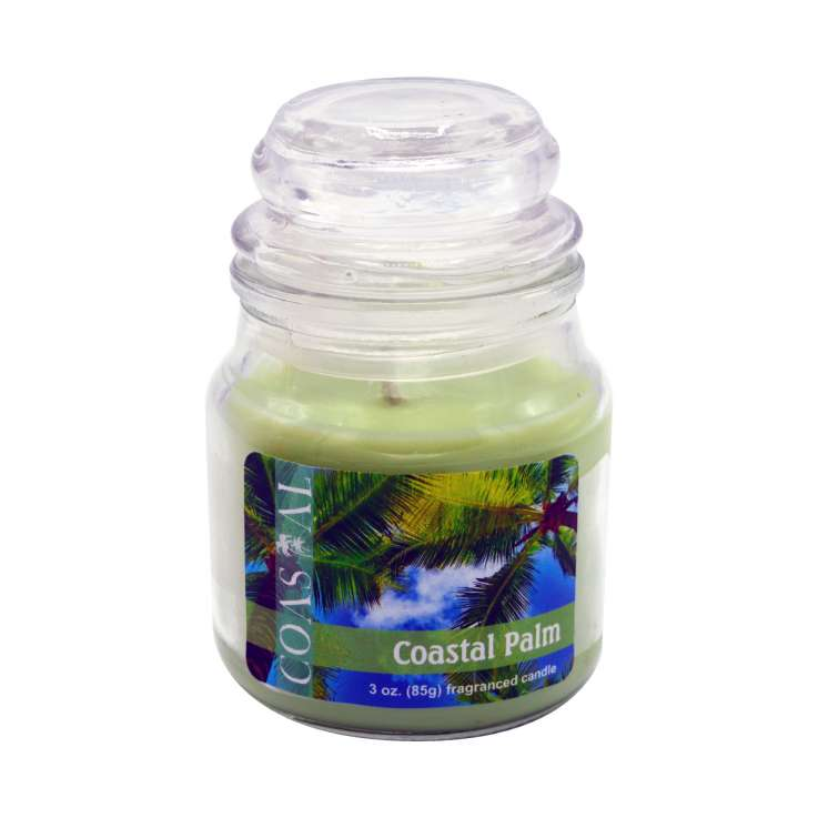 Coastal palm candle 3oz