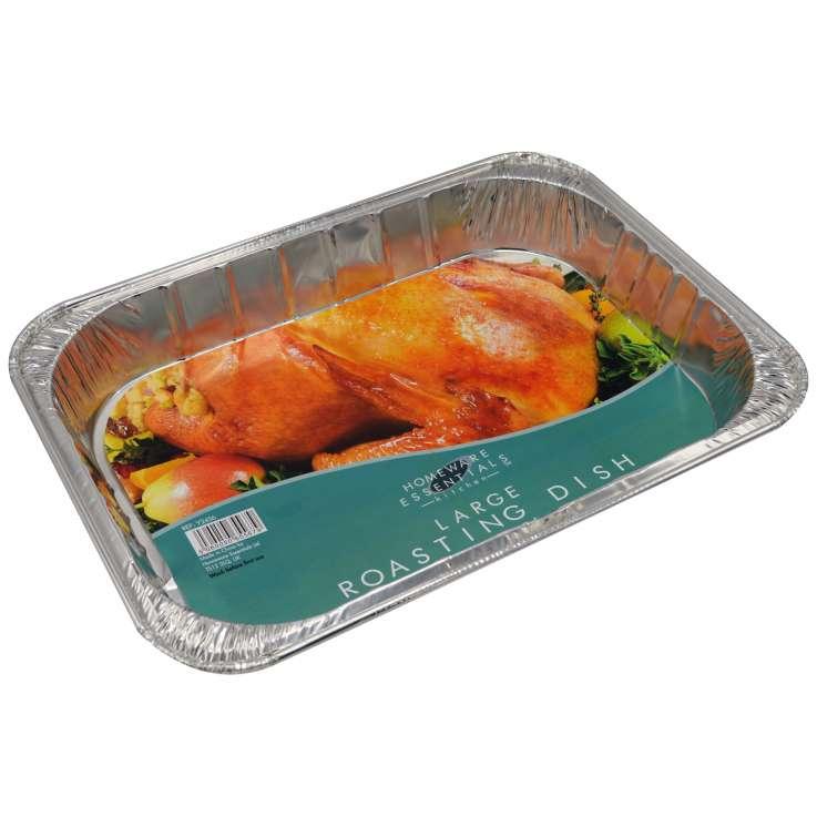 He foil large roasting dish (435 x 315 x 75mm)