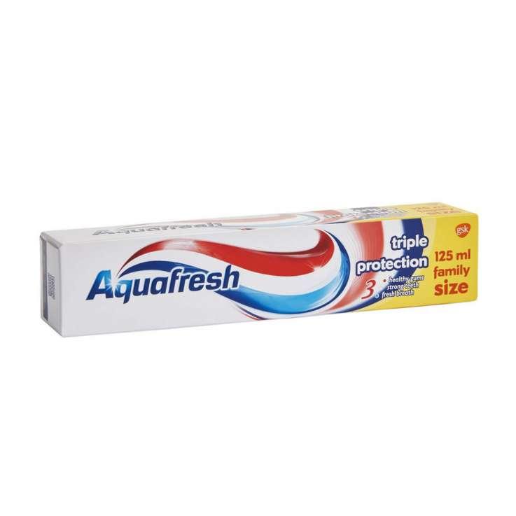 Aquafresh toothpaste 125ml - triple protection