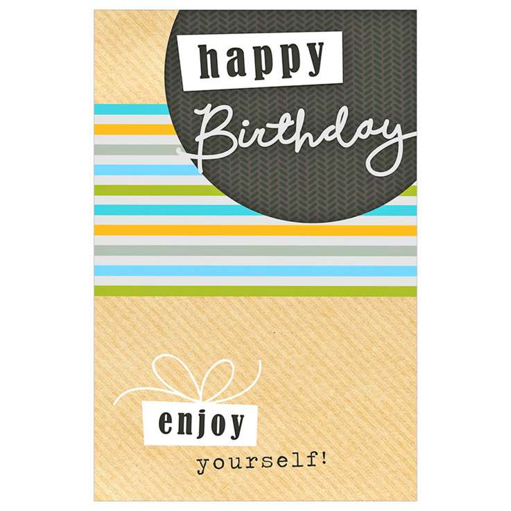 Garlanna Greeting Cards Code 50 - Open Stripes