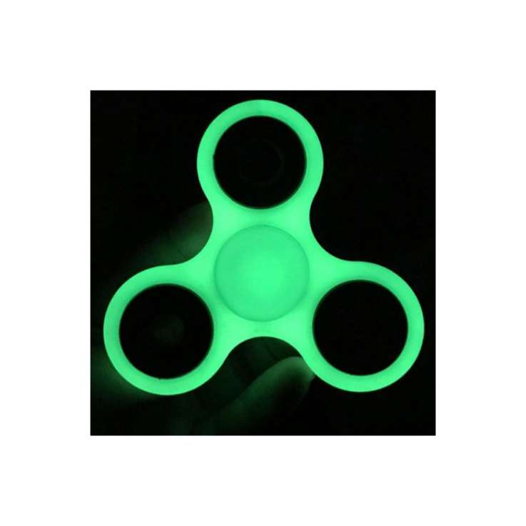 Fidget spinner - glow in the dark