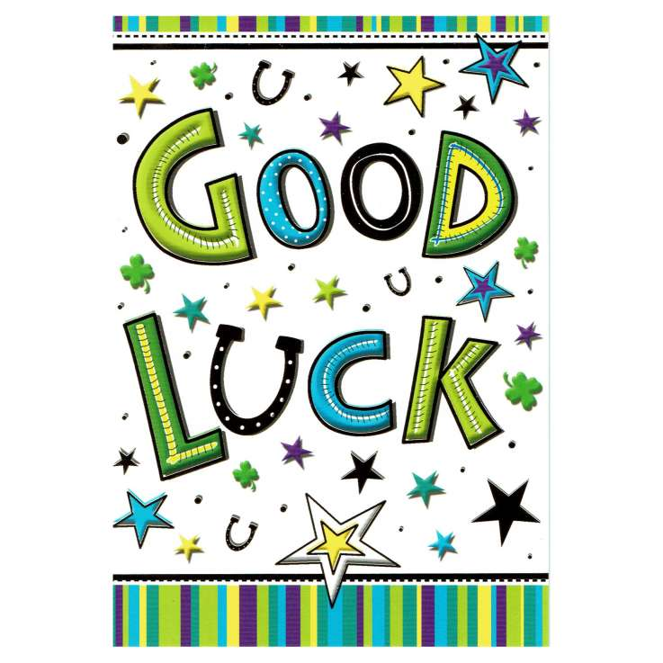 Everyday Greeting Cards Code 50 - Good Luck