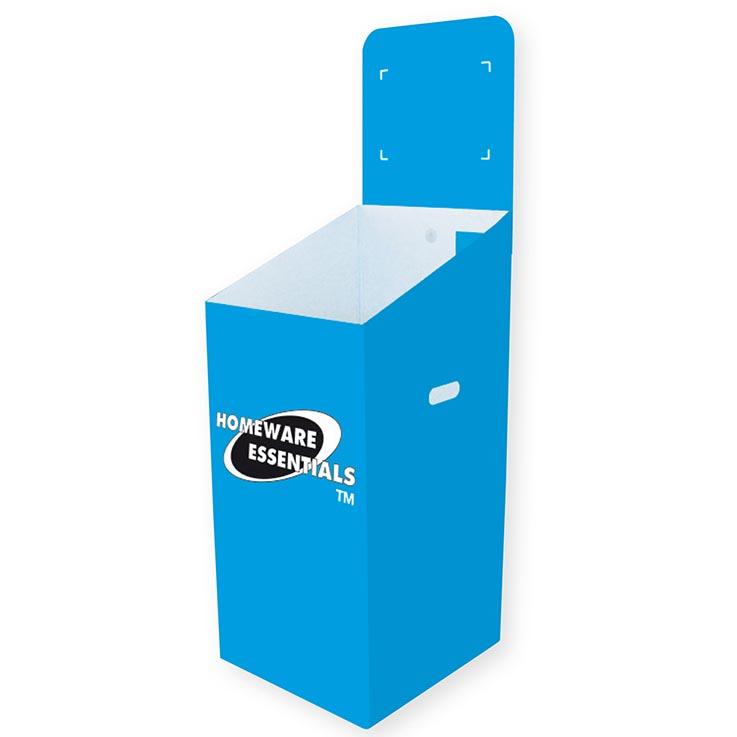 Dump bin h/ess blue (cardboard) - pt1012