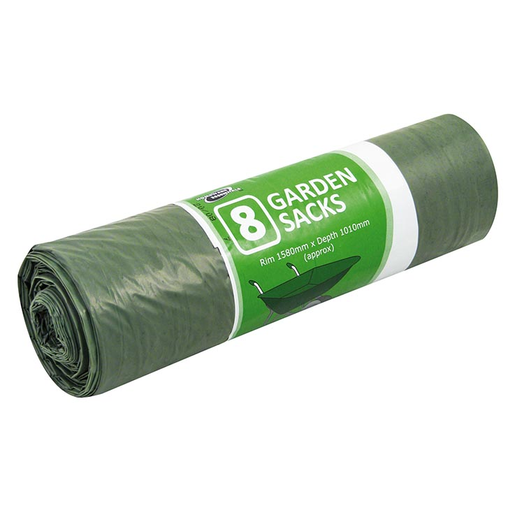 H/ess garden sacks roll of 8's