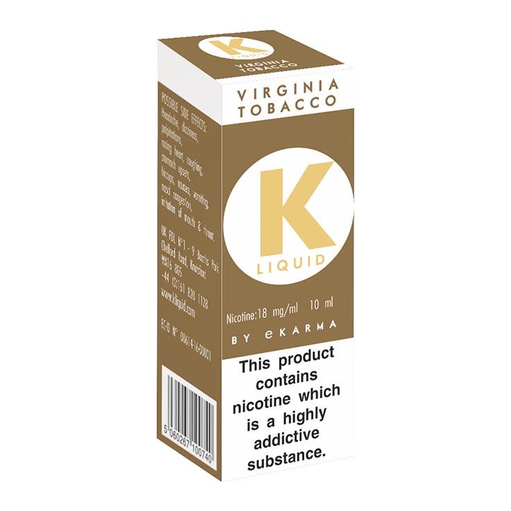 K liquid - virginia tobacco