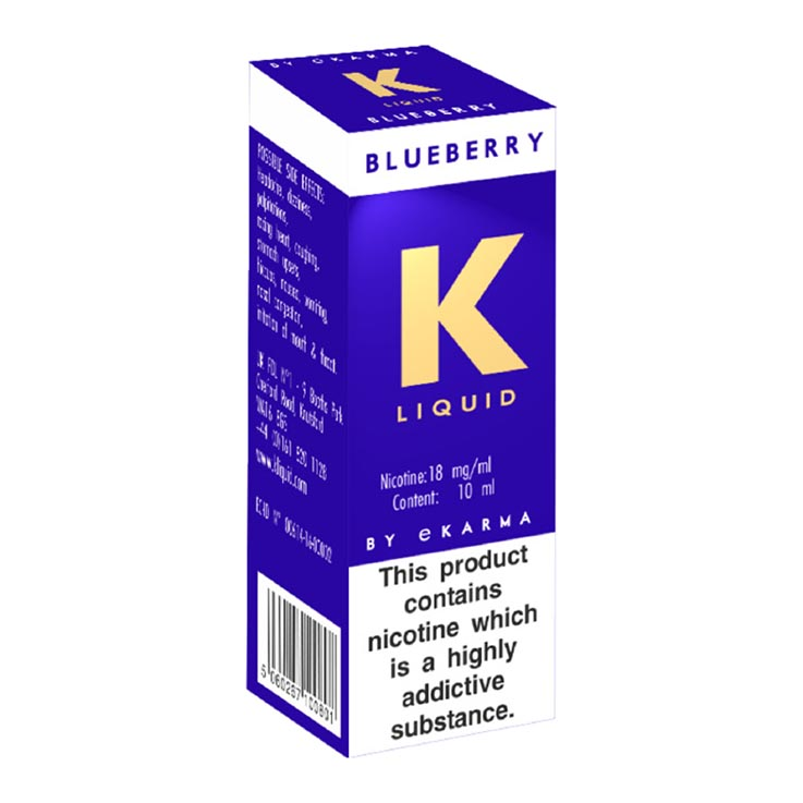 K liquid - blueberry