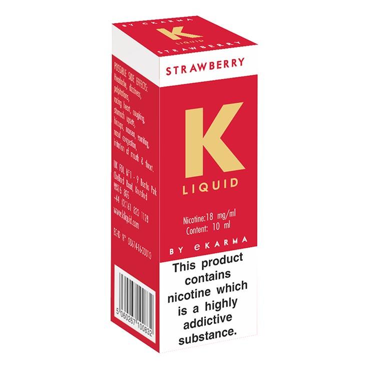 K liquid - strawberry