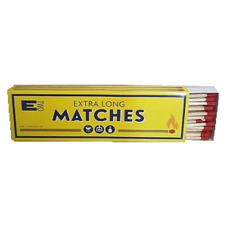 Extra long stem matches