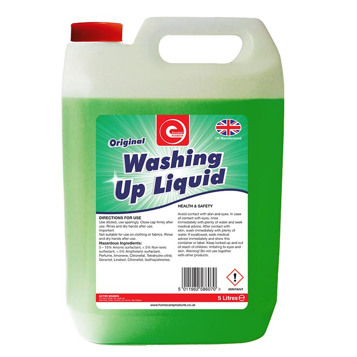 Washing up liquid 5ltr