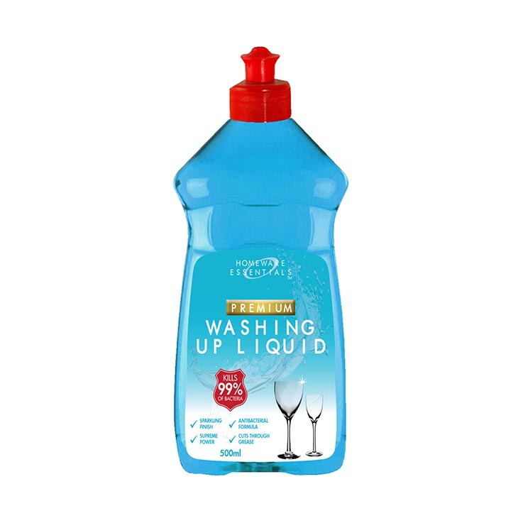 H/ess premium washing up liquid 500ml