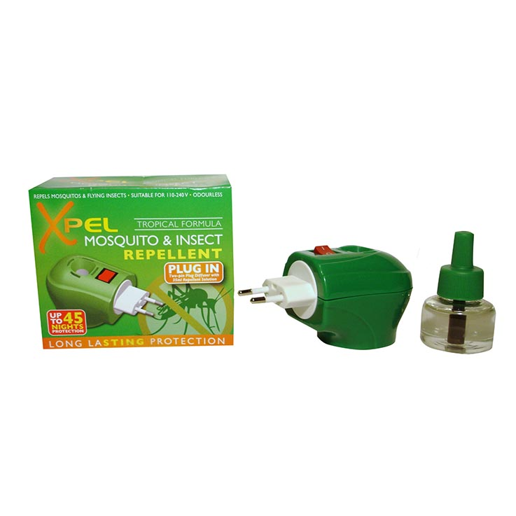 Mosquito & insect repellent plug in + 35ml liquid