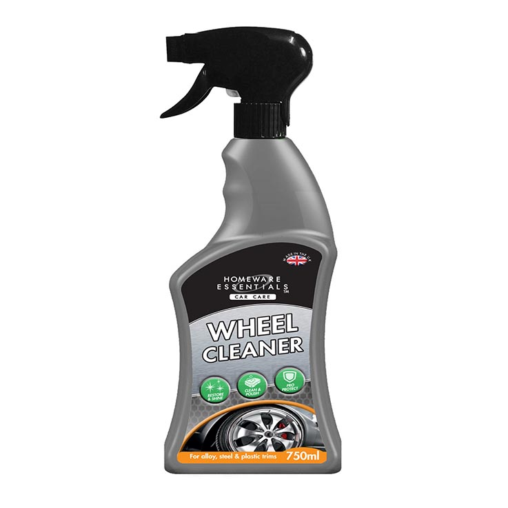 H/ess auto wheel cleaner spray 750ml