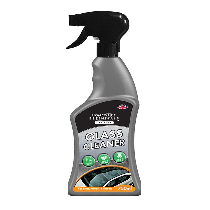 H/ess auto glass cleaner spray 750ml