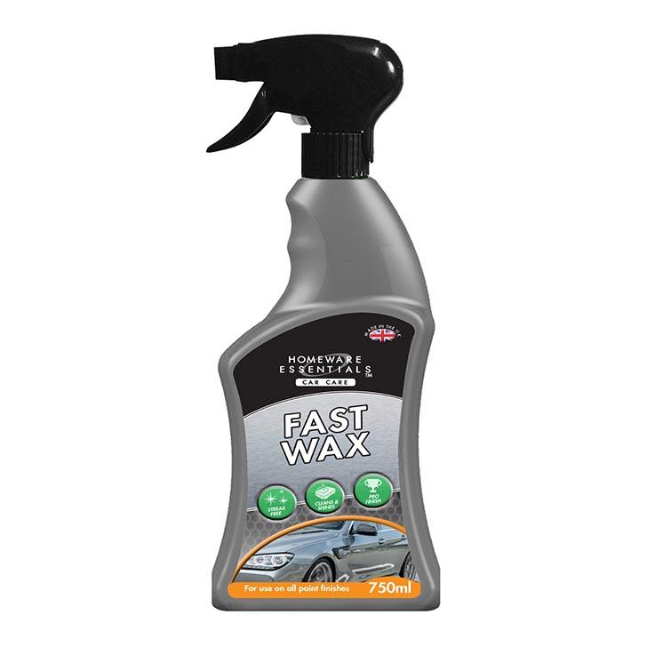 H/ess auto fast wax spray 750ml