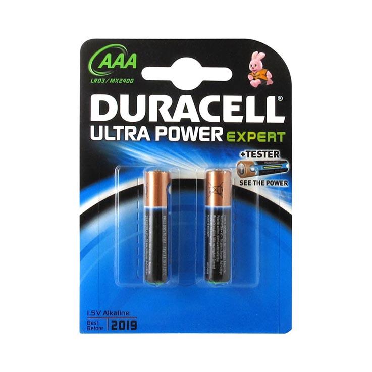 Duracell ultra AAA batteries 2PK