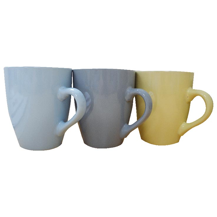 Bullet mugs 4 colours