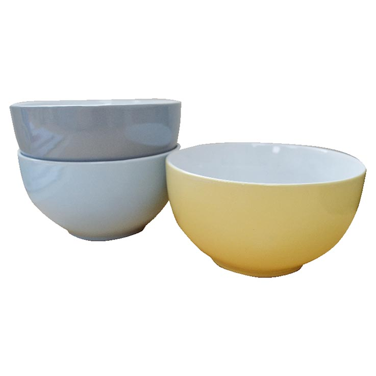 """Cereal bowl 4 colours 5.5"""""""