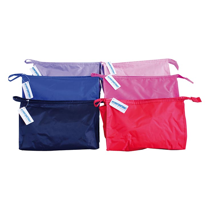 Toiletry bag lrg asst colours