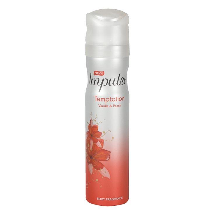 Impulse bodyspray 75ml - temptation