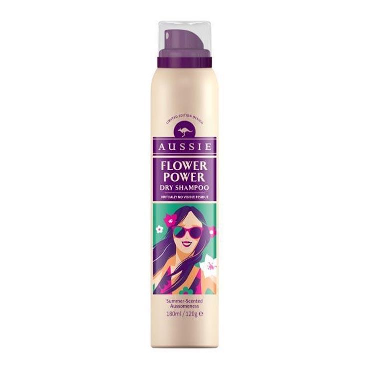 Aussie dry shampoo - flower power 180ml