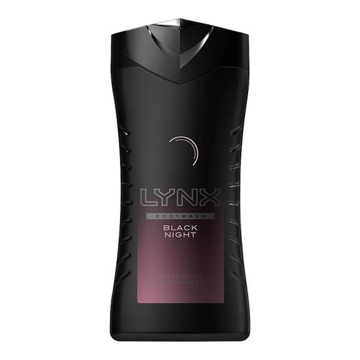 Lynx showergel 250ml - black knight