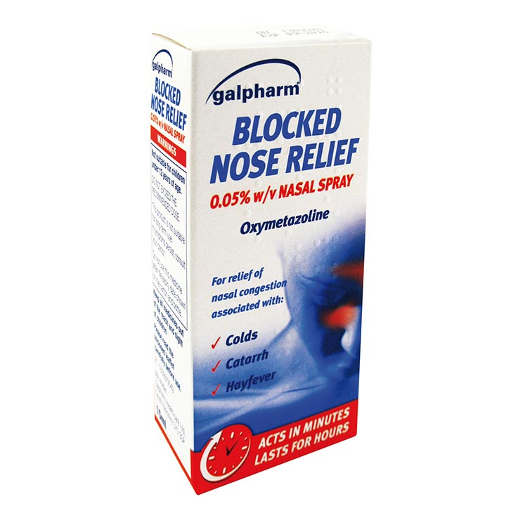 Blocked nose relief spray 15ml - 5366