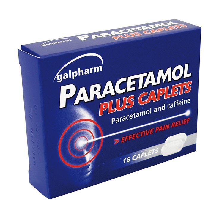 Galpharm Paracetamol Plus Caplets 16's