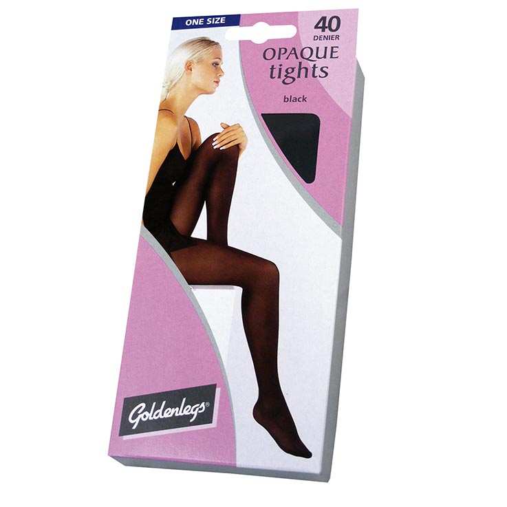 Opaque 40d tights one size