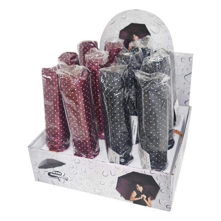 Fashion mini umbrellas dots