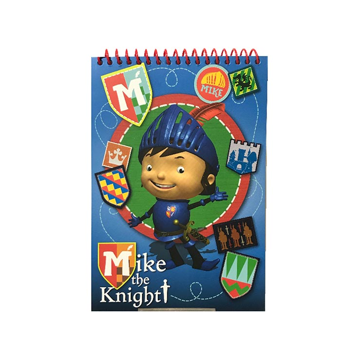 Mike the knight spiral a5 pad - mksp