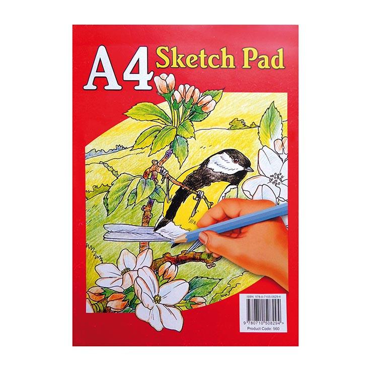 Sketch pad a4 - 560 (zero vat)