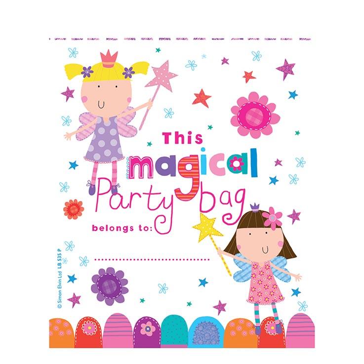 Loot party bags 10pk birthday girl - lb535p