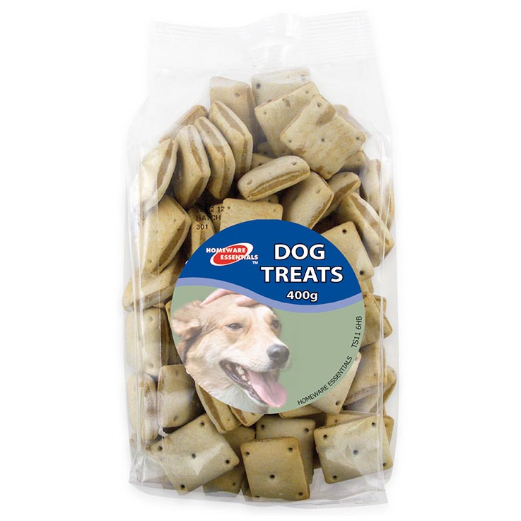 Dog treats 400g - liver squares