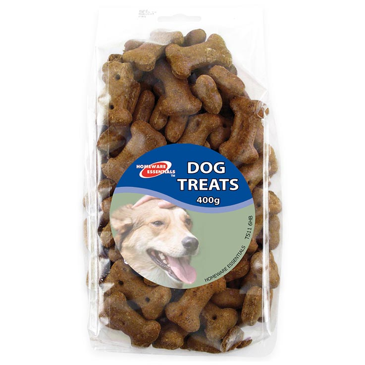 Dog treats 400g - gravy bones